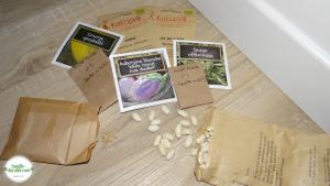Des graines pour faire des semis