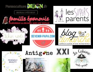 Les 10 blogs qui nous inspirent - Les 10